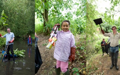 Join 3RiversCleanup 2015! Sat 20th June – Sat 11th July 2015