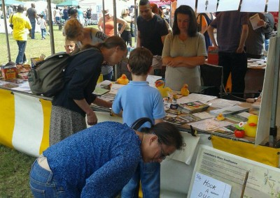 Lewisham's People Day 2014 - hook a Quaggy duck!