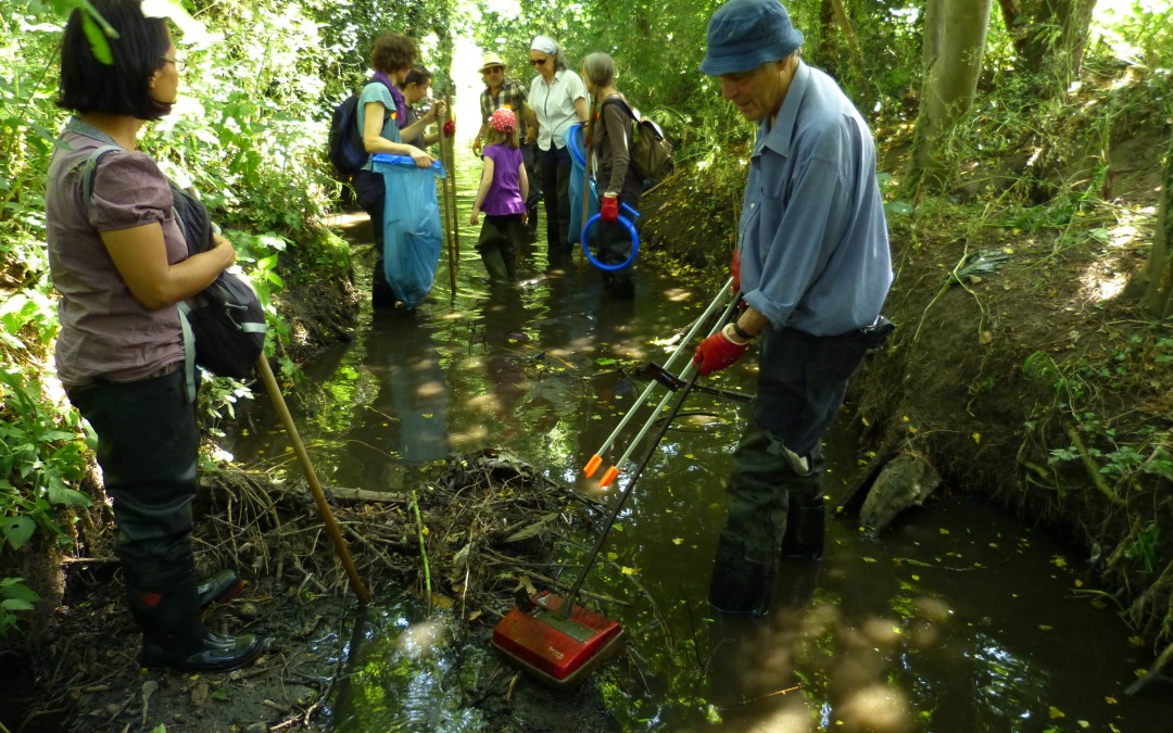 Cleaning our rivers – literally