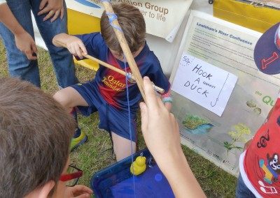 'Hook a Quaggy Duck' game at Lewisham People's Day, July 2014