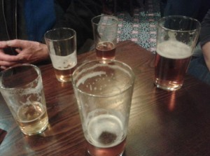 After dowsing for water this evening we've successfully divined water with added malt and hops! Cheers to John Baker