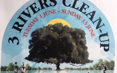 QWAG AGM + Celebrating 10 years of the 3 Rivers Clean Up – 21st March 2018