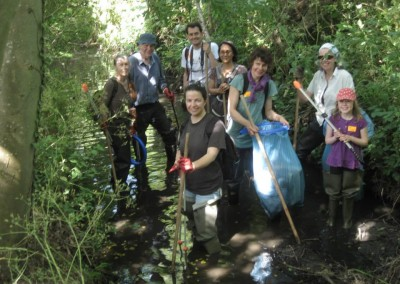 Keeping our rivers free of litter and flytipping