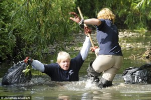 Boris embraces the rivers (4th June 2009)