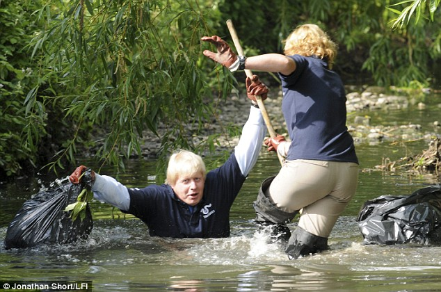 Don't be like Boris! Get closer to your local river without getting wet