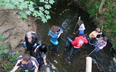Summery watery fun – Lucky 7 for the 3RiversCleanUp – Aug 2015