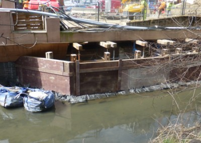 The Quaggy is diverted by central Lewisham redevelopment
