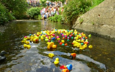 The 4th Great Quaggy Duck Race – 27th May 2018