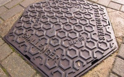 Step on it: what the drain and footway covers and other street furniture we walk over every day reveal about our past – 15 May 2019