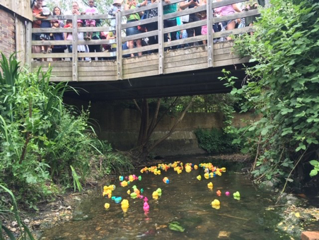 6th Duck race
